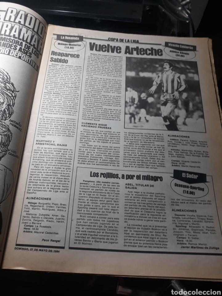 """Coleccionismo deportivo: SPORT N° 1626 .27 MAYO 1984. MARADONA """" QUIERO IRME"""". SUIZA 0 ESPAÑA 4 - Foto 6 - 236152700"""