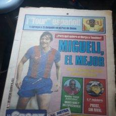 Coleccionismo deportivo: SPORT N°1315. 17 JULIO 1983 MIGUELI EL MEJOR TOUR ESPAÑOL ARROYO Y DELGADO 1° Y 2 ° EN PUY DOME.. Lote 236154370
