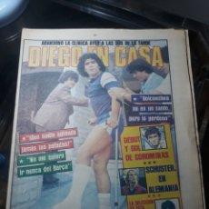 Coleccionismo deportivo: SPORT N° 1394. 4 OCTUBRE 1983. MARADONA EN CASA , GOICOECHEA NO ES UN SANTO PERO LO PERDONO.. Lote 236185850