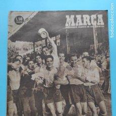 Coleccionismo deportivo: PERIODICO MARCA 1948 SERPIS CAMPEON AFICIONADOS - SEMIFINALES COPA ESPAÑOL-SEVILLA-REAL SOCIEDAD. Lote 236350380