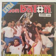 Coleccionismo deportivo: DON BALÓN - RECOPA ZARAGOZA - 1995. Lote 236387230