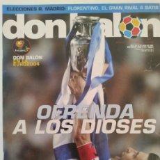 Collectionnisme sportif: DON BALÓN - GRECIA CAMPEÓN EUROCOPA 2004. Lote 236400590