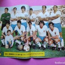 Coleccionismo deportivo: REVISTA AS COLOR Nº 30 POSTER REAL ZARAGOZA 71/1972 ALINEACION 1971/72 ZALBA - URTAIN VELAZQUEZ. Lote 236489635