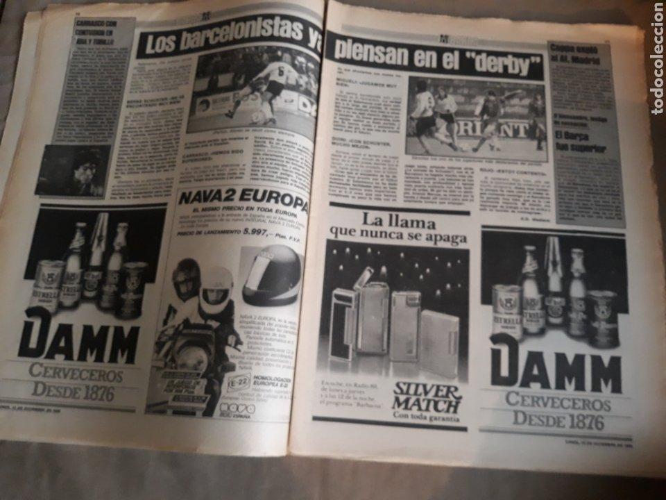 Coleccionismo deportivo: SPORT N° 1463. 12 DICIEMBRE 1983 SALAMANCA 1 BARCA 3 .ESPAÑOL 2 VALLADOLID 0. - Foto 6 - 236501400