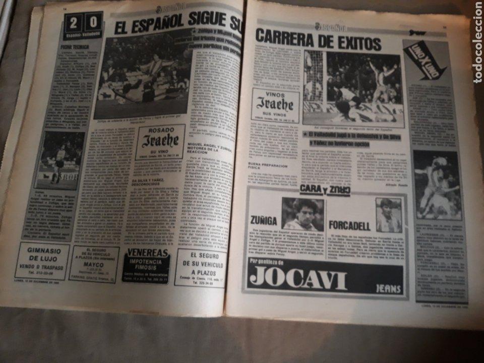 Coleccionismo deportivo: SPORT N° 1463. 12 DICIEMBRE 1983 SALAMANCA 1 BARCA 3 .ESPAÑOL 2 VALLADOLID 0. - Foto 8 - 236501400