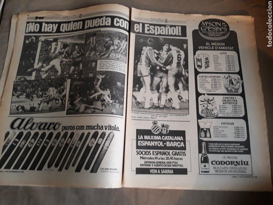 Coleccionismo deportivo: SPORT N° 1463. 12 DICIEMBRE 1983 SALAMANCA 1 BARCA 3 .ESPAÑOL 2 VALLADOLID 0. - Foto 10 - 236501400