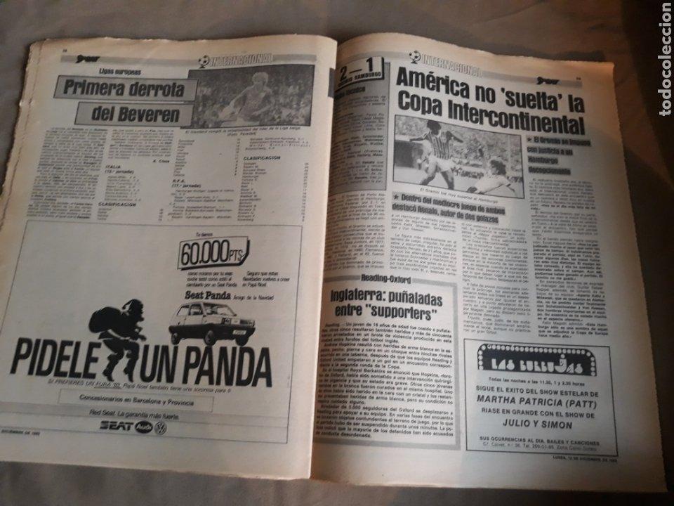 Coleccionismo deportivo: SPORT N° 1463. 12 DICIEMBRE 1983 SALAMANCA 1 BARCA 3 .ESPAÑOL 2 VALLADOLID 0. - Foto 12 - 236501400