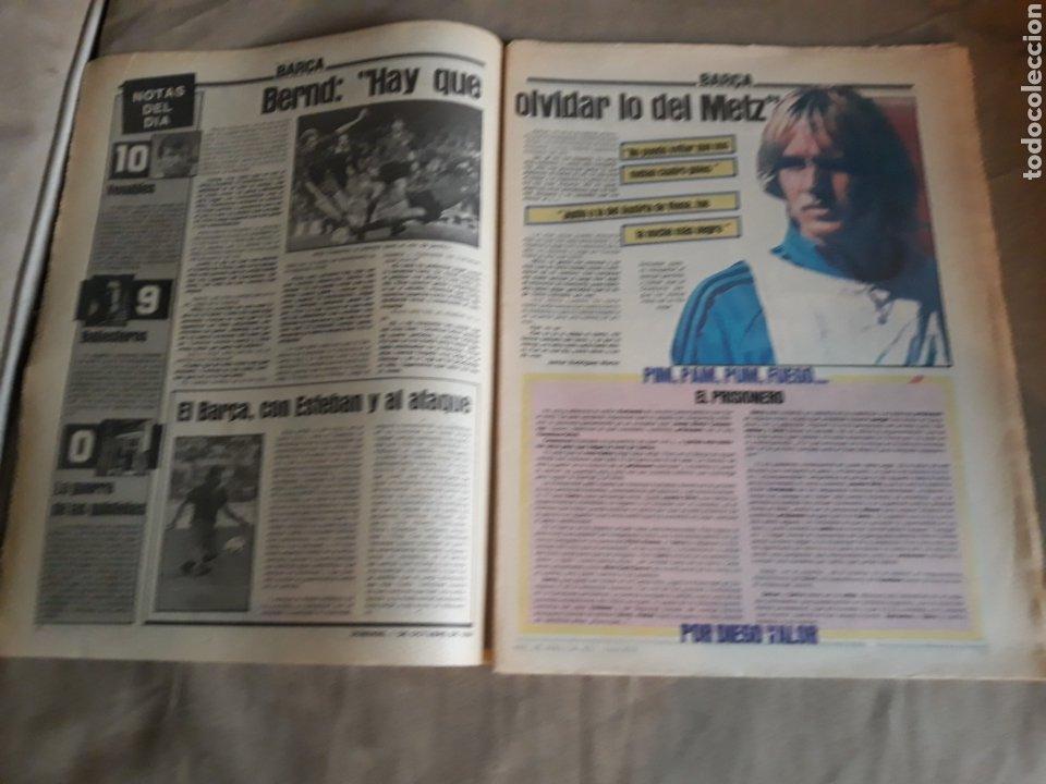 Coleccionismo deportivo: SPORT N°1769 . 7 OCTUBRE 1984 . MARADONA EMPERADOR EN NAPOLES . CAPITULO V SECUESTRO DE QUINI. GODO - Foto 2 - 236504175