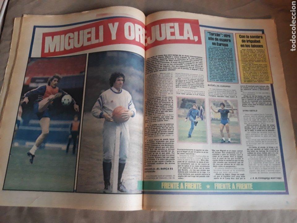 Coleccionismo deportivo: SPORT N°1769 . 7 OCTUBRE 1984 . MARADONA EMPERADOR EN NAPOLES . CAPITULO V SECUESTRO DE QUINI. GODO - Foto 6 - 236504175