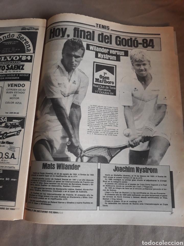 Coleccionismo deportivo: SPORT N°1769 . 7 OCTUBRE 1984 . MARADONA EMPERADOR EN NAPOLES . CAPITULO V SECUESTRO DE QUINI. GODO - Foto 7 - 236504175