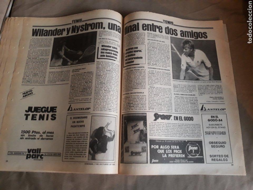 Coleccionismo deportivo: SPORT N°1769 . 7 OCTUBRE 1984 . MARADONA EMPERADOR EN NAPOLES . CAPITULO V SECUESTRO DE QUINI. GODO - Foto 8 - 236504175