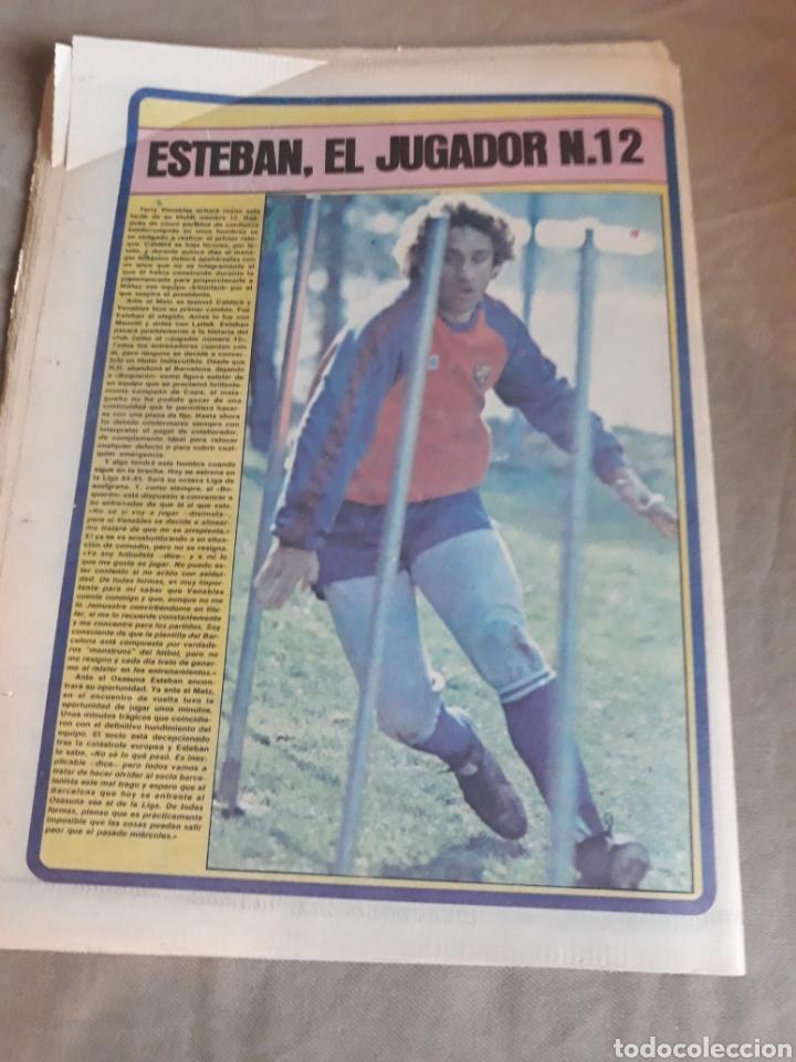 Coleccionismo deportivo: SPORT N°1769 . 7 OCTUBRE 1984 . MARADONA EMPERADOR EN NAPOLES . CAPITULO V SECUESTRO DE QUINI. GODO - Foto 9 - 236504175