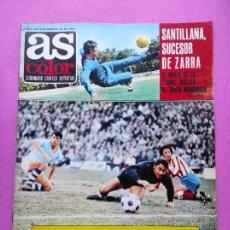 Coleccionismo deportivo: REVISTA AS COLOR Nº 36 1972 POSTER GARATE ATLETICO DE MADRID 71/72 - SANTILLANA - ALARCIA. Lote 236525240