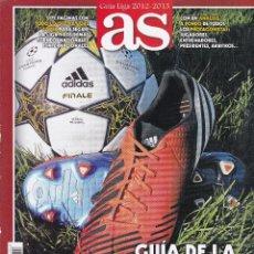 Coleccionismo deportivo: GUIA LIGA 2012/2013 DE AS. Lote 236530845