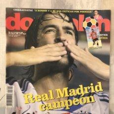 Coleccionismo deportivo: FÚTBOL DON BALÓN 1699 - POSTER GUIZA - RAUL - REAL MADRID - KAKÁ - MANCHESTER - CHELSEA - EURO 2008. Lote 236549230
