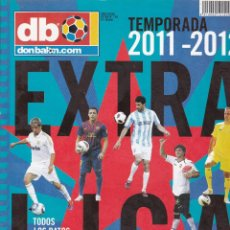 Coleccionismo deportivo: EXTRA LIGA DON BALON TEMPORADA 2011-2012. Lote 236581330