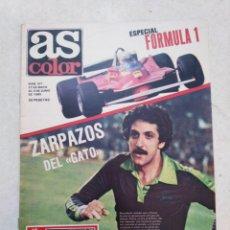 Coleccionismo deportivo: AS COLOR, ZARPAZOS DEL GATO ( PÓSTER EN PÁGINAS CENTRALES ). Lote 236644105