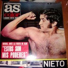 Coleccionismo deportivo: AS COLOR-N-54-MAYO 1972-PORTADA URTAIN-. Lote 236645660