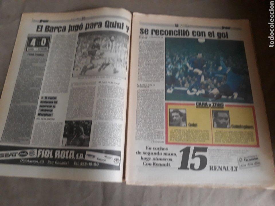 Coleccionismo deportivo: SPORT N°1400.10 OCTUBRE 1983. BARCA 4 GIJON 0. VALENCIA 4 ESPAÑOL 0.ZARAGOZA 3 MADRID 1 - Foto 2 - 236692820