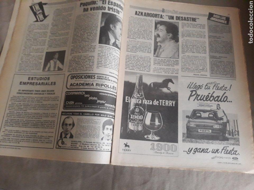 Coleccionismo deportivo: SPORT N°1400.10 OCTUBRE 1983. BARCA 4 GIJON 0. VALENCIA 4 ESPAÑOL 0.ZARAGOZA 3 MADRID 1 - Foto 7 - 236692820