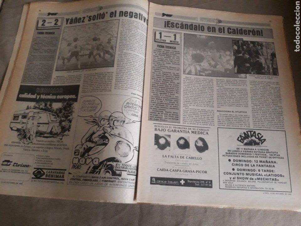 Coleccionismo deportivo: SPORT N°1400.10 OCTUBRE 1983. BARCA 4 GIJON 0. VALENCIA 4 ESPAÑOL 0.ZARAGOZA 3 MADRID 1 - Foto 9 - 236692820