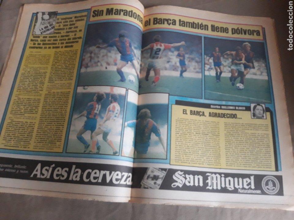 Coleccionismo deportivo: SPORT N°1400.10 OCTUBRE 1983. BARCA 4 GIJON 0. VALENCIA 4 ESPAÑOL 0.ZARAGOZA 3 MADRID 1 - Foto 10 - 236692820