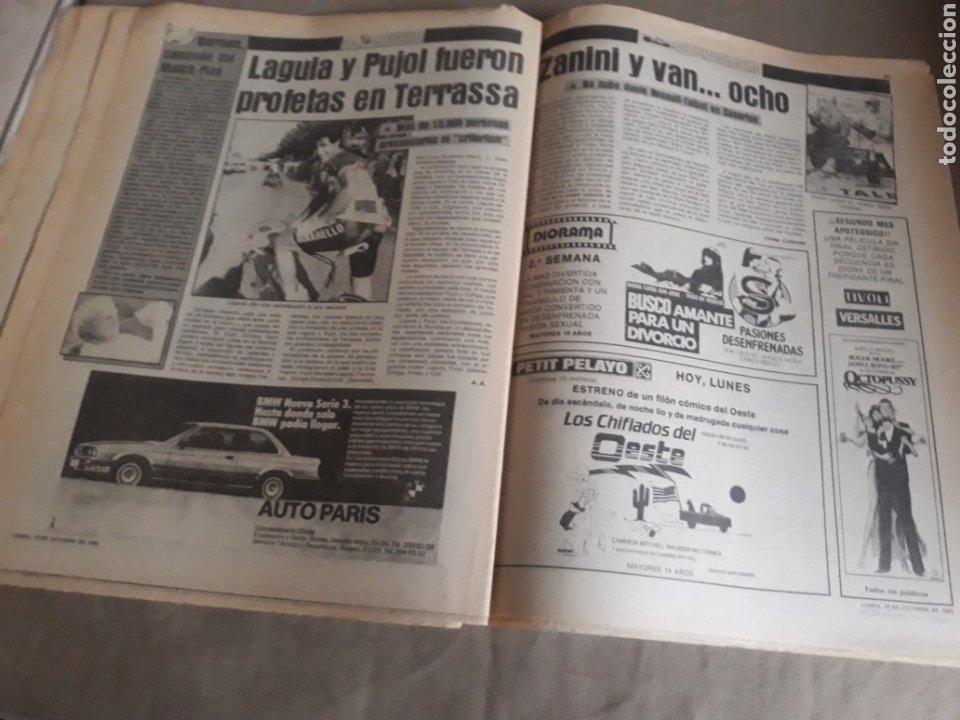 Coleccionismo deportivo: SPORT N°1400.10 OCTUBRE 1983. BARCA 4 GIJON 0. VALENCIA 4 ESPAÑOL 0.ZARAGOZA 3 MADRID 1 - Foto 11 - 236692820