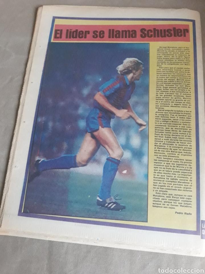 Coleccionismo deportivo: SPORT N°1400.10 OCTUBRE 1983. BARCA 4 GIJON 0. VALENCIA 4 ESPAÑOL 0.ZARAGOZA 3 MADRID 1 - Foto 12 - 236692820