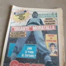 Coleccionismo deportivo: SPORT N°1559.20 MARZO 1984 MANCHESTER UNITED- BARCELONA . ESPAÑOL 9 PARTIDOS SIN GANAR.. Lote 236698515