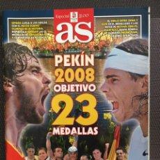 Coleccionismo deportivo: GUÍA AS JUEGOS OLÍMPICOS PEKÍN 2008. Lote 236761740