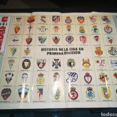Coleccionismo deportivo: POSTER DON BALON, HISTORIA DE LA LIGA. Lote 236801215