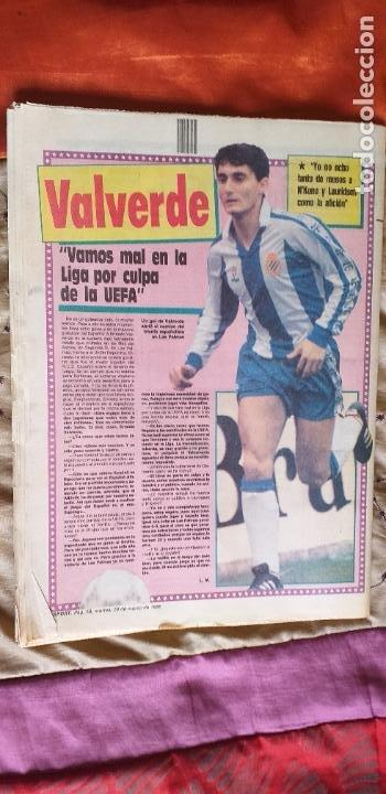 Coleccionismo deportivo: SPORT-Nº3016-56PAGINAS-1988-VALVERDE-ZUBIZARRETA-BAQUERO - Foto 4 - 23315015