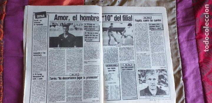 Coleccionismo deportivo: SPORT-Nº3016-56PAGINAS-1988-VALVERDE-ZUBIZARRETA-BAQUERO - Foto 5 - 23315015