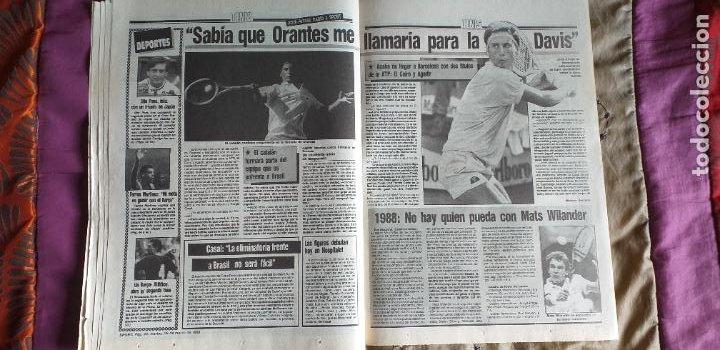 Coleccionismo deportivo: SPORT-Nº3016-56PAGINAS-1988-VALVERDE-ZUBIZARRETA-BAQUERO - Foto 6 - 23315015