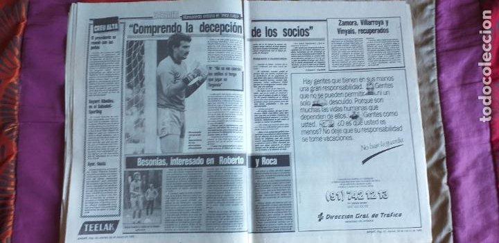 Coleccionismo deportivo: SPORT-Nº3016-56PAGINAS-1988-VALVERDE-ZUBIZARRETA-BAQUERO - Foto 8 - 23315015