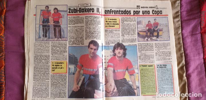 Coleccionismo deportivo: SPORT-Nº3016-56PAGINAS-1988-VALVERDE-ZUBIZARRETA-BAQUERO - Foto 12 - 23315015