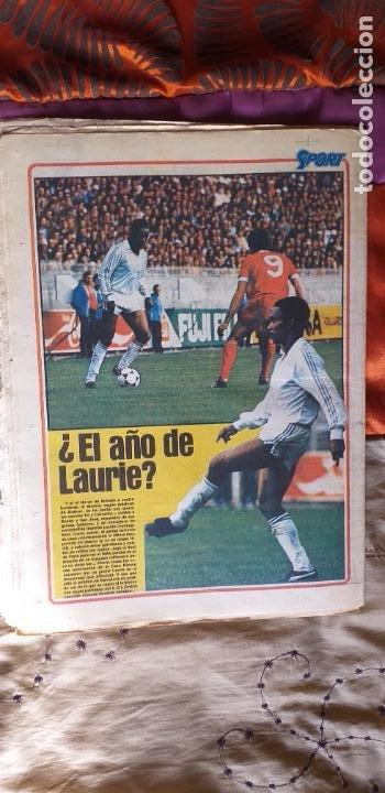 Coleccionismo deportivo: SPORT-1981-Nº615-EL COLOSO CAMP NOU-36 PAGINAS-SANCHEZ-UDO LATTEK-MAGUREGUI-TORRES-BREITNER-AYFUCH - Foto 2 - 21071799