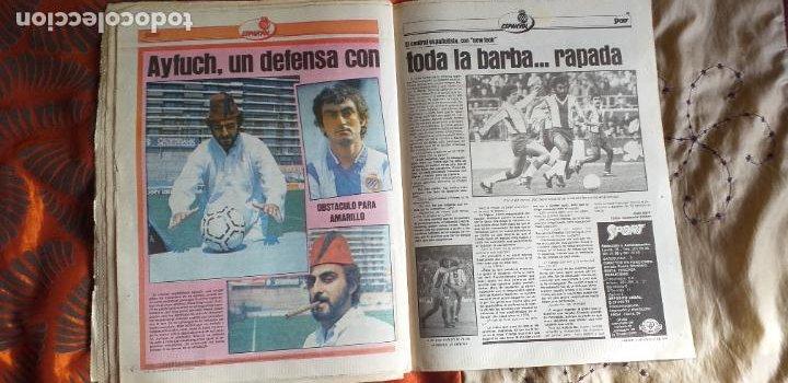 Coleccionismo deportivo: SPORT-1981-Nº615-EL COLOSO CAMP NOU-36 PAGINAS-SANCHEZ-UDO LATTEK-MAGUREGUI-TORRES-BREITNER-AYFUCH - Foto 3 - 21071799