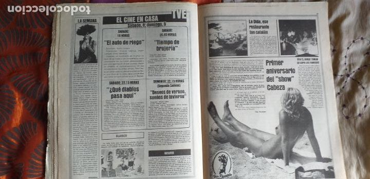 Coleccionismo deportivo: SPORT-1981-Nº615-EL COLOSO CAMP NOU-36 PAGINAS-SANCHEZ-UDO LATTEK-MAGUREGUI-TORRES-BREITNER-AYFUCH - Foto 4 - 21071799
