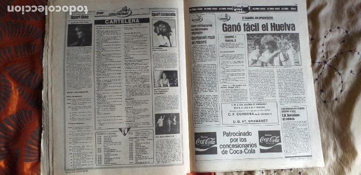 Coleccionismo deportivo: SPORT-1981-Nº615-EL COLOSO CAMP NOU-36 PAGINAS-SANCHEZ-UDO LATTEK-MAGUREGUI-TORRES-BREITNER-AYFUCH - Foto 5 - 21071799