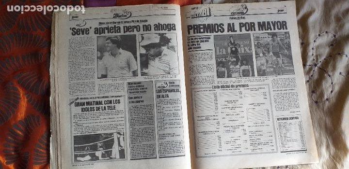 Coleccionismo deportivo: SPORT-1981-Nº615-EL COLOSO CAMP NOU-36 PAGINAS-SANCHEZ-UDO LATTEK-MAGUREGUI-TORRES-BREITNER-AYFUCH - Foto 6 - 21071799
