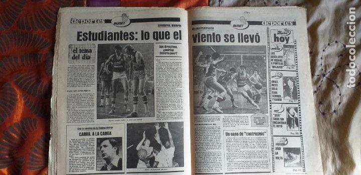 Coleccionismo deportivo: SPORT-1981-Nº615-EL COLOSO CAMP NOU-36 PAGINAS-SANCHEZ-UDO LATTEK-MAGUREGUI-TORRES-BREITNER-AYFUCH - Foto 7 - 21071799