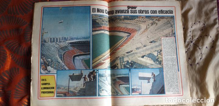 Coleccionismo deportivo: SPORT-1981-Nº615-EL COLOSO CAMP NOU-36 PAGINAS-SANCHEZ-UDO LATTEK-MAGUREGUI-TORRES-BREITNER-AYFUCH - Foto 10 - 21071799