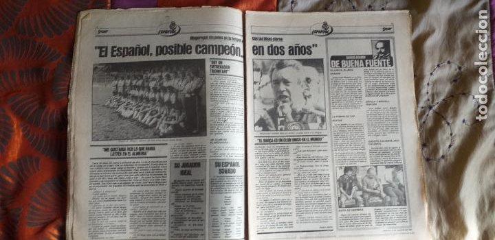 Coleccionismo deportivo: SPORT-1981-Nº615-EL COLOSO CAMP NOU-36 PAGINAS-SANCHEZ-UDO LATTEK-MAGUREGUI-TORRES-BREITNER-AYFUCH - Foto 12 - 21071799
