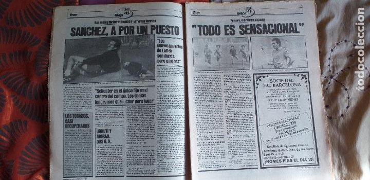 Coleccionismo deportivo: SPORT-1981-Nº615-EL COLOSO CAMP NOU-36 PAGINAS-SANCHEZ-UDO LATTEK-MAGUREGUI-TORRES-BREITNER-AYFUCH - Foto 13 - 21071799