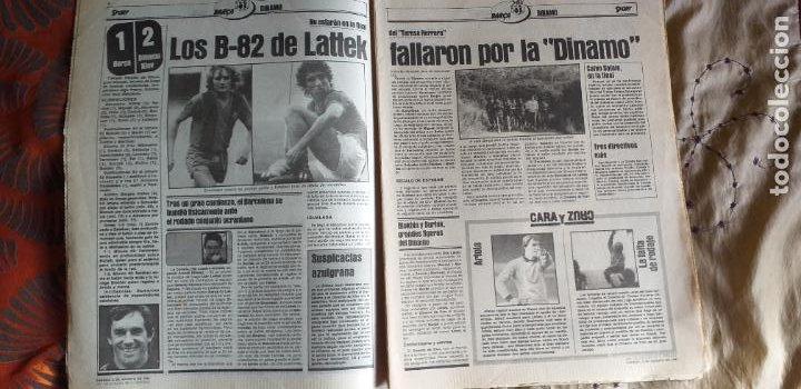 Coleccionismo deportivo: SPORT-1981-Nº615-EL COLOSO CAMP NOU-36 PAGINAS-SANCHEZ-UDO LATTEK-MAGUREGUI-TORRES-BREITNER-AYFUCH - Foto 14 - 21071799