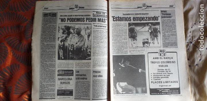 Coleccionismo deportivo: SPORT-1981-Nº615-EL COLOSO CAMP NOU-36 PAGINAS-SANCHEZ-UDO LATTEK-MAGUREGUI-TORRES-BREITNER-AYFUCH - Foto 15 - 21071799