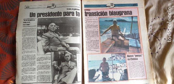 Coleccionismo deportivo: SPORT-1981-Nº615-EL COLOSO CAMP NOU-36 PAGINAS-SANCHEZ-UDO LATTEK-MAGUREGUI-TORRES-BREITNER-AYFUCH - Foto 16 - 21071799