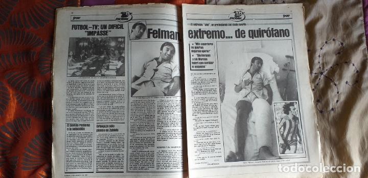 Coleccionismo deportivo: SPORT-1981-Nº615-EL COLOSO CAMP NOU-36 PAGINAS-SANCHEZ-UDO LATTEK-MAGUREGUI-TORRES-BREITNER-AYFUCH - Foto 18 - 21071799