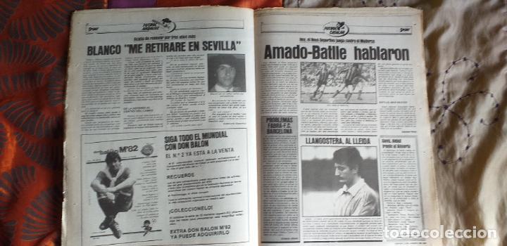 Coleccionismo deportivo: SPORT-1981-Nº615-EL COLOSO CAMP NOU-36 PAGINAS-SANCHEZ-UDO LATTEK-MAGUREGUI-TORRES-BREITNER-AYFUCH - Foto 19 - 21071799